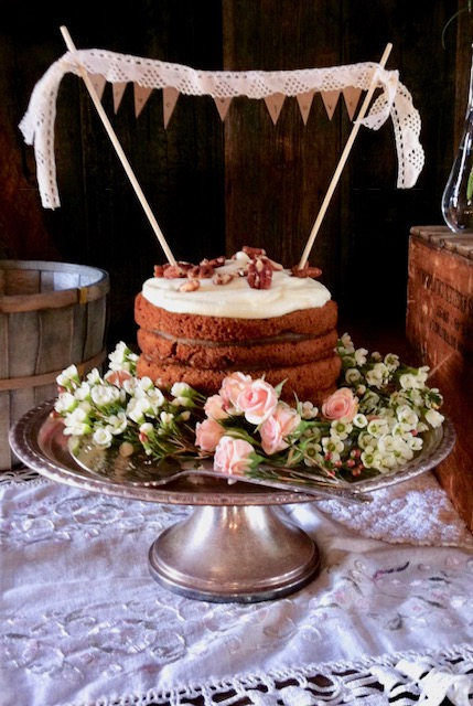 Pioneer Wedding Stack Cake